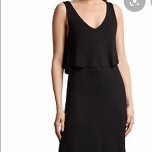 Allsaints Helena popover maxi dress NWT